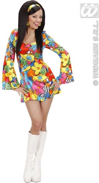 1960/70s Flower Power Girl